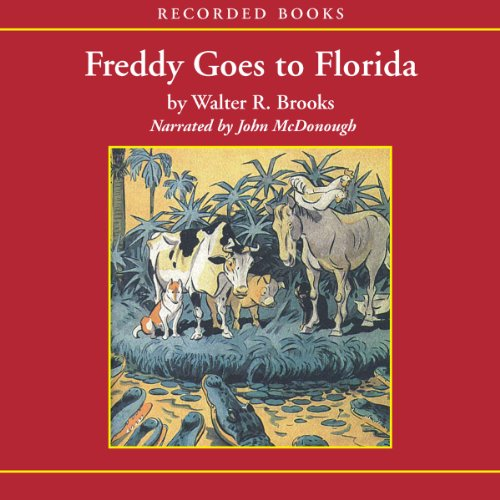 Freddy Goes to Florida audiobook cover art
