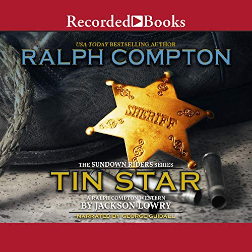 Ralph Compton Tin Star Audiobook By Ralph Compton, Jackson Lowry cover art