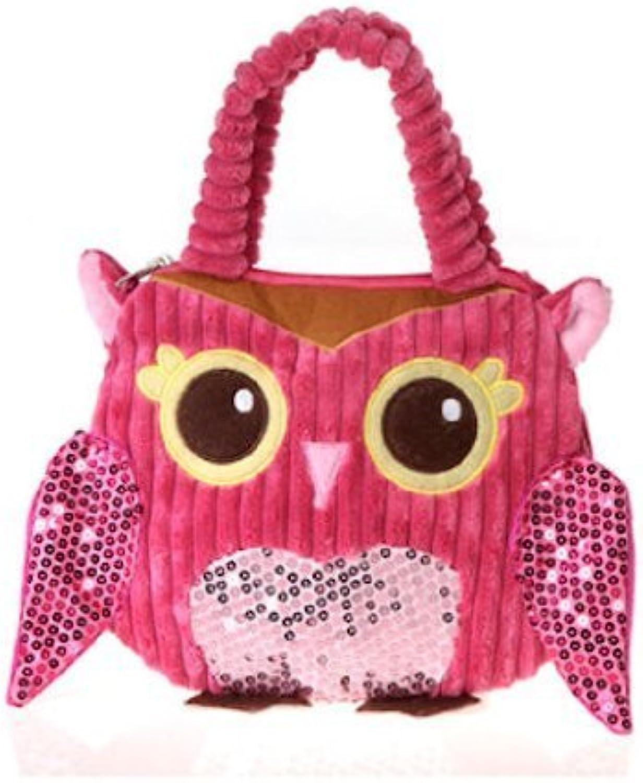 Girly Pink Owl Hand Bag 10  by Fiesta by Fiesta