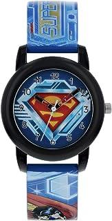 Superman Orologio Analogico Quarzo Bambino con Cinturino in PU SUP9229