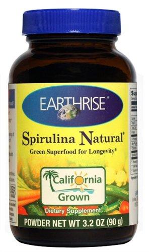 EARTHRISE Spirulina, 90 GR