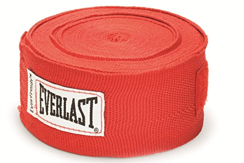 Everlast elastische Boxbandagen, 460 cm (Rot)