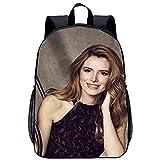 KKASD Sac à dos adulte Bella Thorne sac à dos imprimé en 3D sac d'école de randonnée, économie de travail, respirant, cartable de voyage 17 pouces