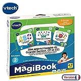 VTech - Livre MagiBook - Mes apprentissages de Grande Section, CP & CE1 - Pack de 3 livres, livres éducatifs