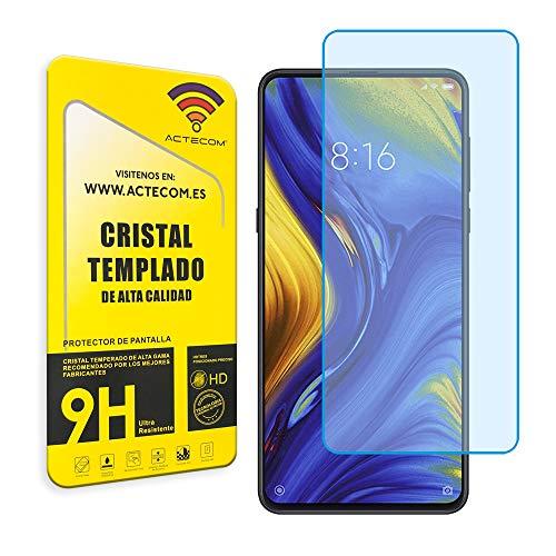 actecom® Protector Pantalla para XIAOMI MI Mix 3 Cristal Vidrio Templado