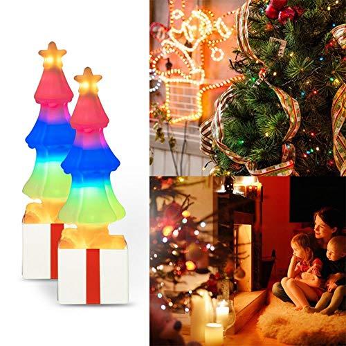 LED kleurverandering kerstboom Himalaya kristal zout lamp verlichting nachtlampje kerstcadeau verlichting decoratie kerst