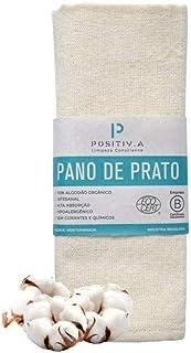 Pano de Prato Orgânico Positiva - natural