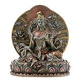 StealStreet Kleine grüne Tara-Sammelfigur Buddha-Figur