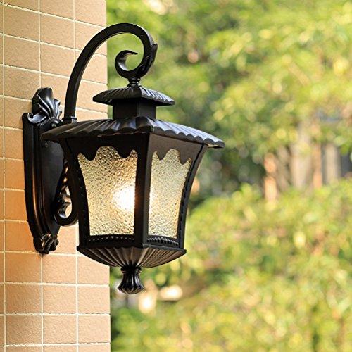 Waterproof Outdoor Lighting Villa Outdoor Wall Lamp Creative Retro Courtyard Wall Lamp Balcony Outdoor Wall Lamp,Quartet Flower Lights +3 Watts