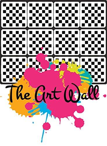 Checkered Nail Stencils Stickers Vinyl Nail Art/Nail Deco/ Airbrush