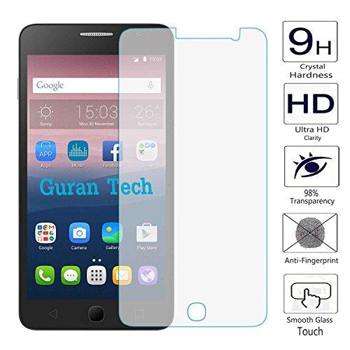 2 x Guran® Displayschutz Glasfolie für Alcatel OneTouch Pop Star (5zoll) Smartphone Screen Bildschirm Hartglas Schutzfolie Film