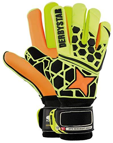 Derbystar APS Hexasoft Pro, 8,5, orange gelb schwarz, 2510085000