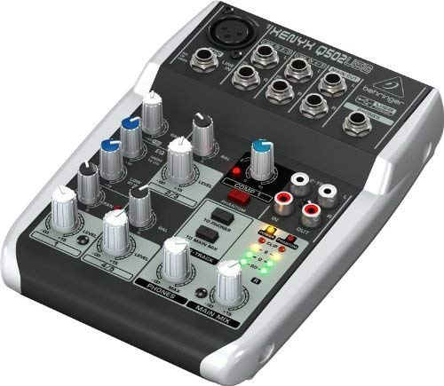 Behringer Xenyx Q502USB Powered Mixer