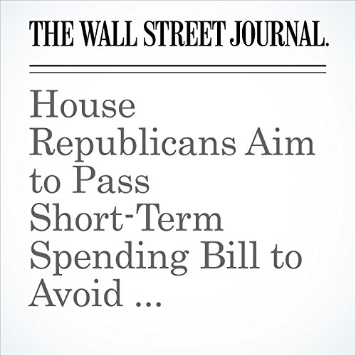 House Republicans Aim to Pass Short-Term Spending Bill to Avoid Government Shutdown copertina