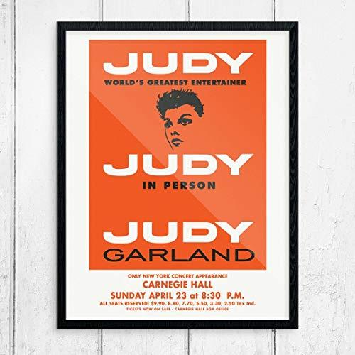 Fridgedoor Judy Garland at Carnegie Hall Concert Poster Print
