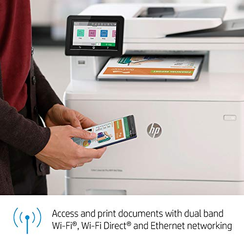HP Color LaserJet Pro Multifunction M479fdw Wireless Laser Printer with One-Year, Next-Business Day, Onsite Warranty, Works with Alexa (W1A80A) Photo #13