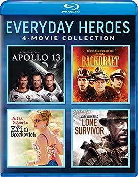 Everyday Heroes 4-Movie Collection  Apollo 13 / Backdraft / Erin Brockovich / Lone Survivor  [Blu-ray]