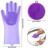 Zoom IMG-1 viesap guanti in silicone dishwashing