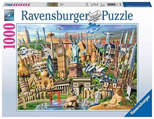 Ravensburger Puzzle 19890 - Sehenswürdigkeiten weltweit - 1000 Teile