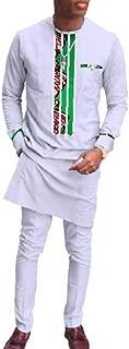 Men Batik Oversized Slim Dashiki African Print Fashion Pant Sets