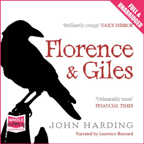 Florence and Giles audiobook cover art