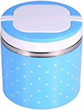 WCHCJ Insulation Lunch Box- Stackable Insulated Stainless Steel Lunch Container with Portable Lunch Bag, Large Capacity (S...