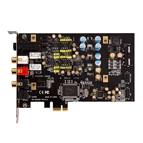aimPCI-Express接続オーディオカードCMI8888チップを搭載SC808