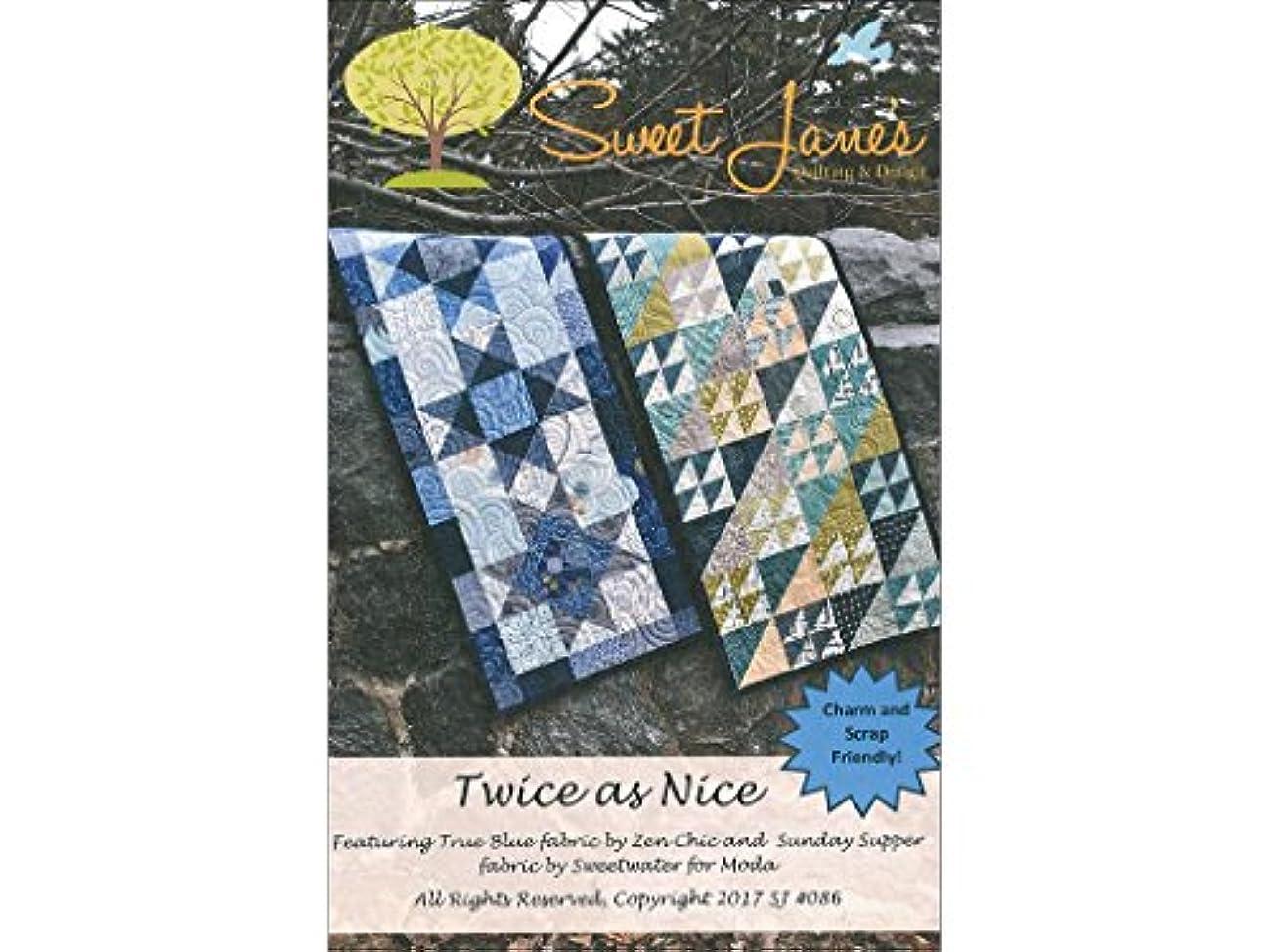 Sweet Janes Quilting Designs Sweet Janes Designs Twice As Nice Ptrn