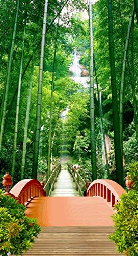 Adultos Rompecabezas 500 Piezas Paisaje Del Puente Del Bosque De Bambú Juguete De Regalo Ideal La Mejor Decoración Para El Hogar De Bricolaje 87x57cm