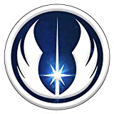 Decal Serpent Jedi Inspired Silver Blue...