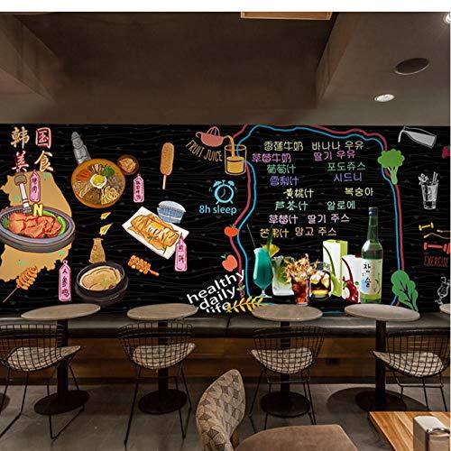 Wandgemälde fototapete cartoon graffiti tapete sushi küche delikatesse gebraten bar importiert snack shop tapete wandbild