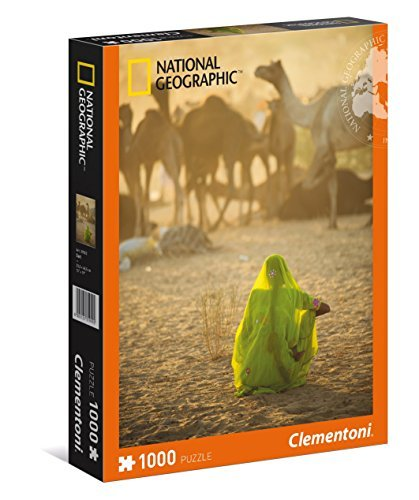clementoni 39302 puzzle 1000 indian woman national geographic by