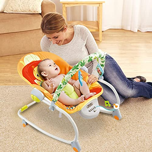 LUGUO Electric Portable Baby Swing Cradle For Infants, Soft Swing Chair...