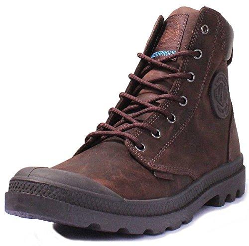 Palladium Pampa Sport Cuff Leather Waterproof, Unisex-Erwachsene, Klassische Stiefel, Braun (Chocolat 067), 37 EU
