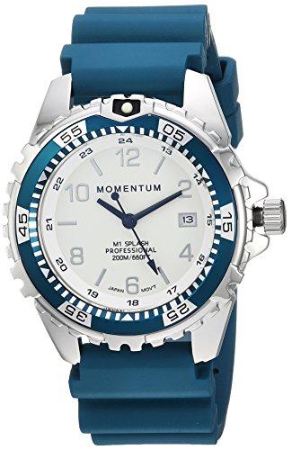 Momentum's Unisex M1 Splash Watch | 200m / 660 ft Water Resistant | Rotating Dive Bezle