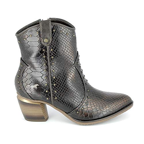 Mustang Boots 1334503 Braun, Braun - braun - Größe: 39 EU