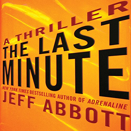 The Last Minute audiobook cover art