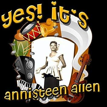 Yes! It's Annisteen Allen (Original)