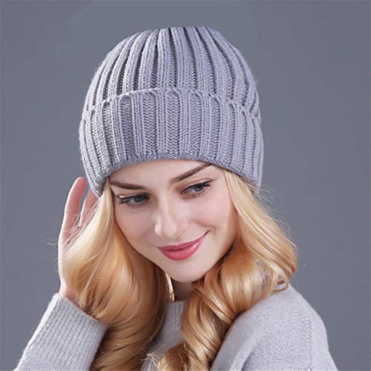 民主党楽しむコンパクトZHENGDANG ?女性の帽子ニットビーニーキャップ厚い女性のキャップのために暖かい冬の帽子を保管してください