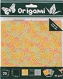 OZ INTERNATIONAL Diseño de Flores de Papel para Origami Doble-Cara 15 x 15 cm 20 Hojas