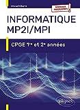 Informatique MP2I/MPI: CPGE 1re et 2e années
