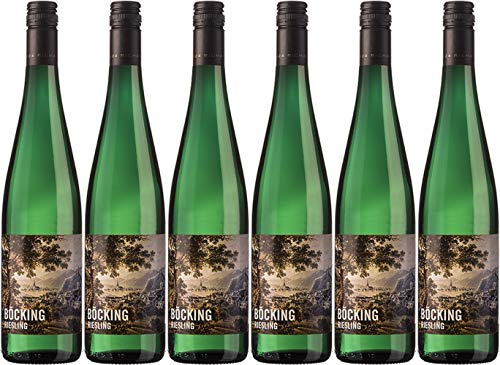 Richard Böcking Böcking Riesling 2018 Feinherb (6 x 0.75 l)
