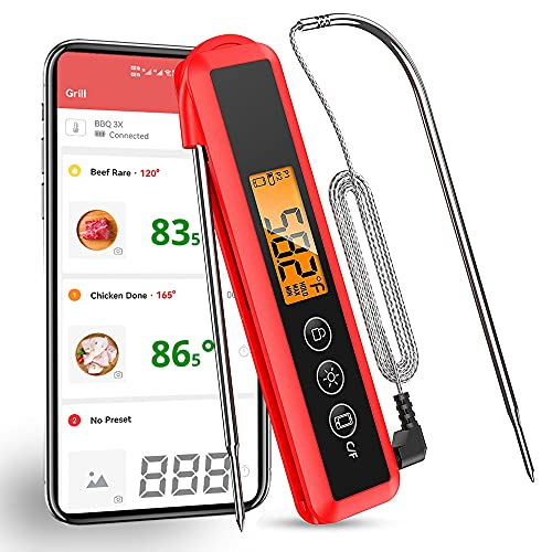 Bluetooth Grillthermometer, Diivoo...