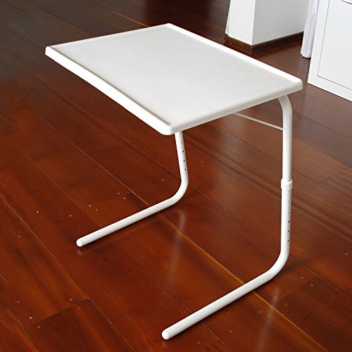Top Home Solutions Portable Adjustable Folding Table, Lounge, Bedroom Furniture, Tv