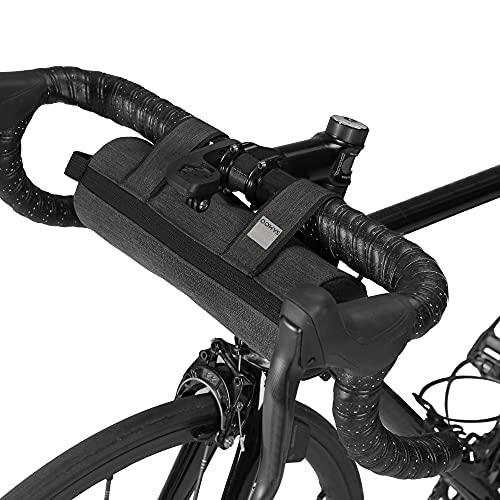 Lixada Sac de vélo pour Guidon de vélo, Tube supérieur de vélo Sac de vélo pour Cadre Avant de vélo Sac de Rangement à bandoulière