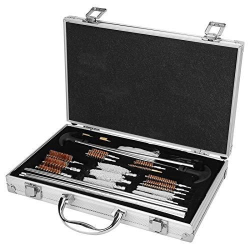 Ufolet Limpiador de Rifles, Kit de Limpieza de Armas, Rifle de Pistola Limpiador de Armas de Fuego para escopetas Rifle/Pistolas