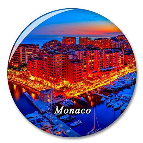 Monaco Fridge Magnet Decorative Magnet Bottle Opener Tourist City Travel Souvenir Collection Gift Strong Refrigerator Sticker