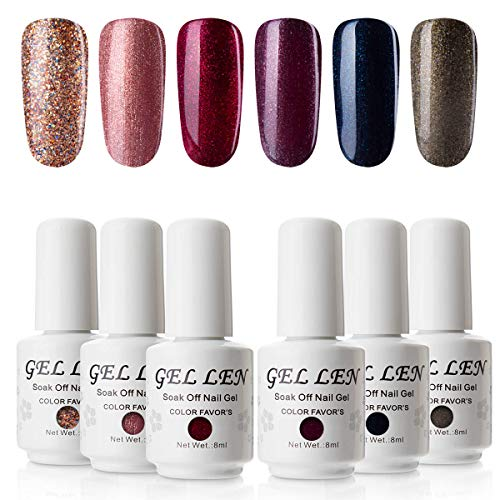 Mat Top Coat Vernis Gel - Gellen Mat Finition Gel Top Vernis Semi Permanent Non Dégraissant Vernis à Ongles Vernis UV LED Gel Soak Off Nail Art 8ml