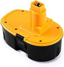 DOSCTT Batería Reemplazo para Dewalt 18V 3,0Ah NiMH Repuesto Pilas DE9098 DE9095 DE9094 DE9096 DC9096 DE9039 DW9096 DW9095 DW9098 DE9503