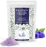 Kula Nutrition Pure L Glutamine Powder - 300g (60 Servings) - Amino Acid Powder, Protein Building Blocks - Supplement for Muscle Repair & Recovery & Restore Gut Health (Blue Raspberry)
